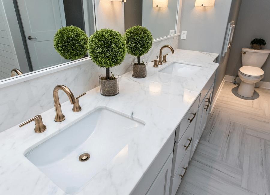 Bathroom Countertops in Anaheim & Los Angeles California