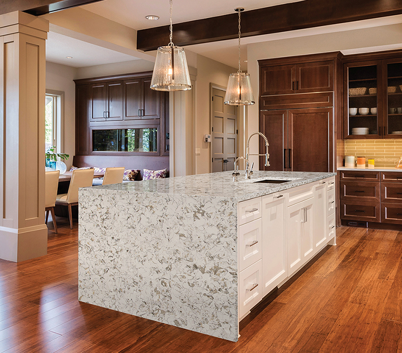styles of California granite countertops